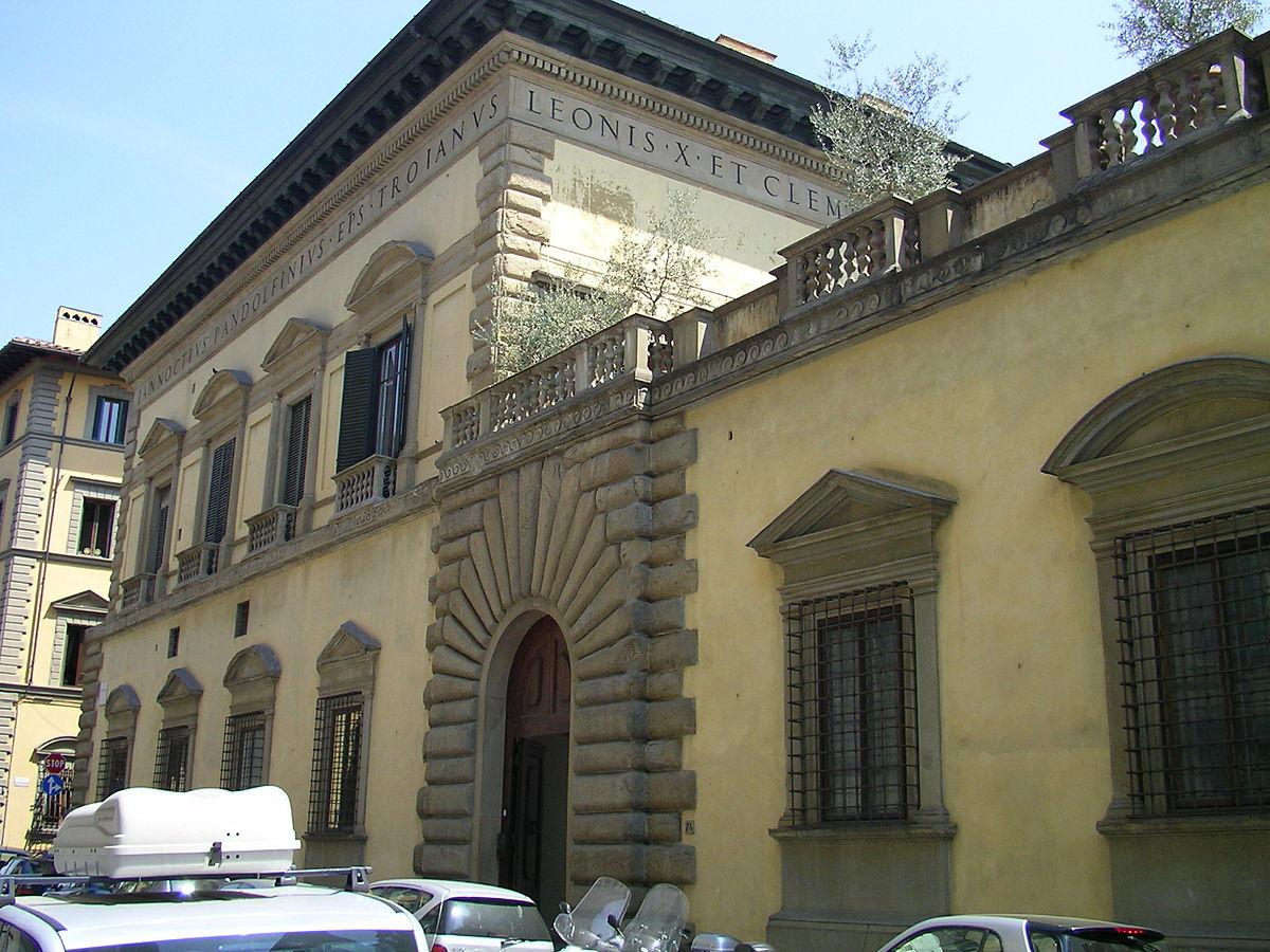 Palazzo pandolfini wikipedia for Piani di palazzi contemporanei