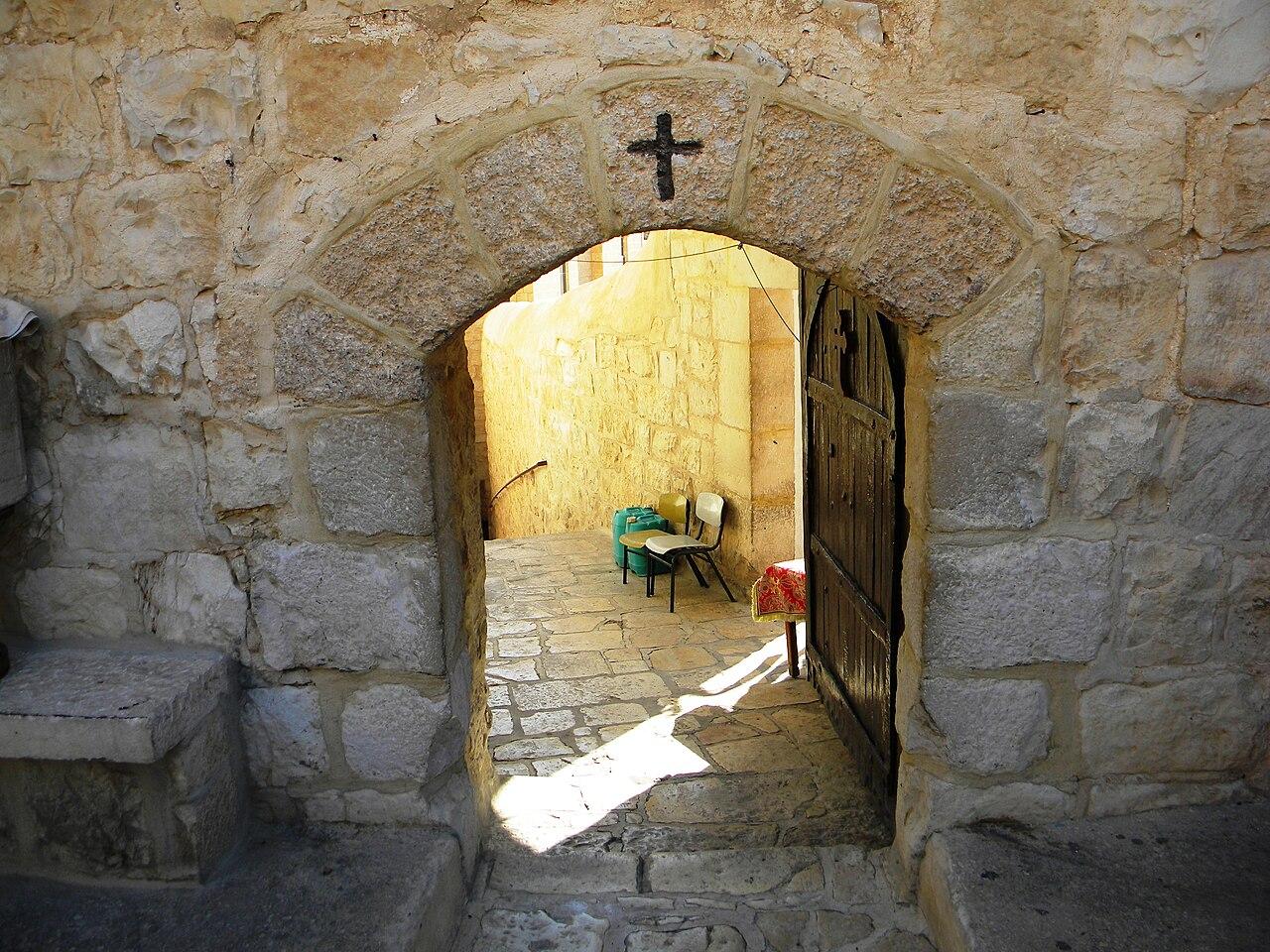 File Palestine Mar Saba Greek Orthodox Monastery
