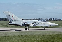 Panavia Tornado F.3 of No. 43 Squadron, seen in 1993.