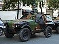 Panhard VBL (Vèhicule Blindé Legér), French army licence registration '6924 0055' pic.JPG