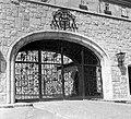 Pannonhalmi Bencés Főapátság 1948, főkapu. Fortepan 1889.jpg