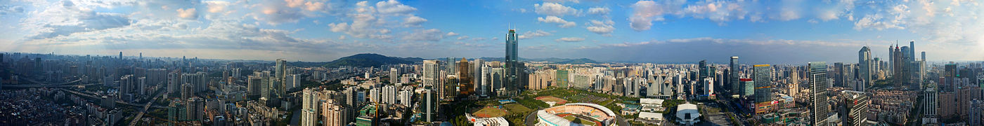 Panorama of Guangzhou