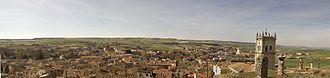 Baltanás - Image: Panoramica de Baltanas desde las Bodegas