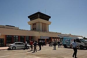 Sivas Airport - Sivas Nuri Demirag Airport old terminal