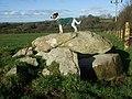 Parc-y-Llyn burial chamber - geograph.org.uk - 618664.jpg