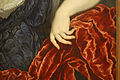 Paris Bordone - Portrait of a woman with a rose (detail 2).jpg