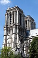Paris Notre-Dame Towers southeast view 20160706.jpg