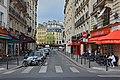 Paris Rue de Montfaucon depuis R. Clement 2014.jpg