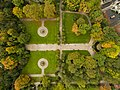 Park in Dublin Iveagh Gardens aerial (21951035168).jpg
