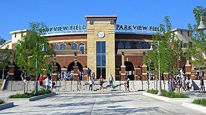 History of sports in Fort Wayne, Indiana - Image: Parkview Field 2009