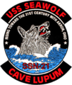 Patch of the USS Seawolf (SSN-21).png