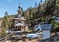 Paternion Kreuzen Kreuzwegkapelle hl. Johannes West-Ansicht und Stationen 06042018 2888.jpg