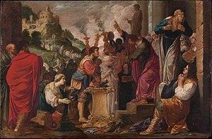 Paul and Barnabas at Lystra
