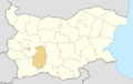 Pazardzhik Province location map.png