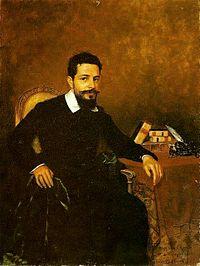 Un portret al lui Azeredo realizat în 1903 de Pedro Weingärtner