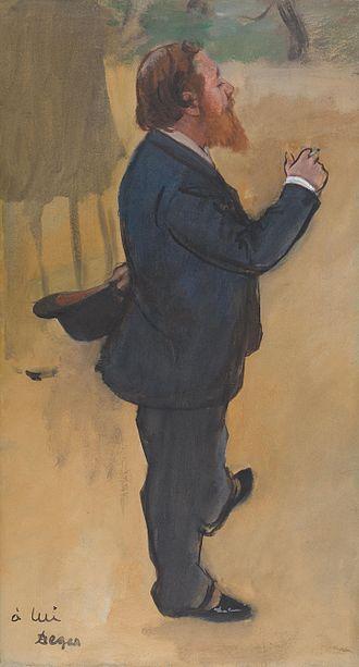 Carlo Pellegrini (caricaturist) - Pellegrini by Degas