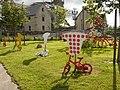 Pencran - Voie Communale Numéro 1 de Keranna - Décor pour le tour de France 2021, entre la marie et l'église.jpeg