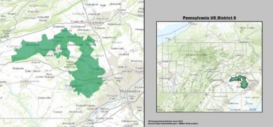 Pensilvania Usona Kongresa Distrikto 6 (ekde 2013). tif