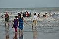 People Enjoying Sea Waves - New Digha Beach - East Midnapore 2015-05-01 8818.JPG