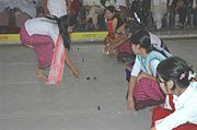 People playing Kang in Manipur