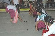 People playing Kang in Manipur