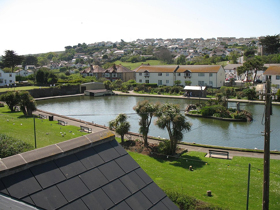 Perranporth Boating Lake
