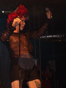 Pete Burns in 2008