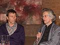 Peter Busmann und Godfrid Haberer, Finissage Dani Karavan-Ausstellung-2645.jpg