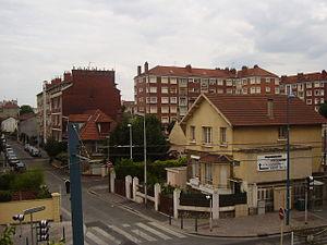 Noisy-le-Sec - The district of Petit Noisy