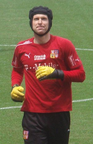Czech Republic national football team - Petr Cech is the most capped player in the history of Czech Republic with 124 caps