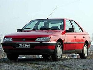 Peugeot 405 - Image: Peugeot 405 front