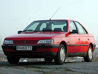 Peugeot 405 family or mid-sized car