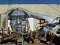 Phoenix, AZ, 21st Century Warrior Goddess, photo wheat paste, Jetsonorama, 2012 - panoramio.jpg
