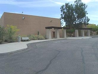 Pueblo Grande Ruin and Irrigation Sites - Image: Phoenix Pueblo Grande Ruin Museum