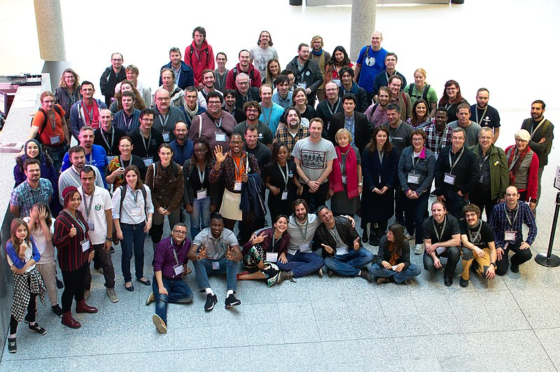 Photo du groupe Wikiconvention francophone 2017 (02).jpg