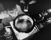 Physicist Studying Alpha Rays GPN-2000-000381