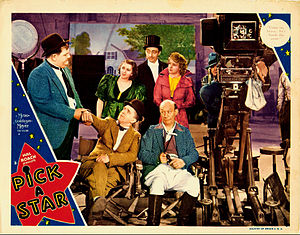 Pick a Star - Lobby card for the film