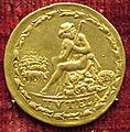 Pier maria serbaldi da pescia, medaglia di giulio II, verso con la tutela (oro).JPG
