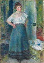 Pierre-Auguste Renoir - The Laundress - Google Art Project.jpg