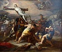 Pierre-Luca Giordano 1685c L'élévation de la croix.jpg