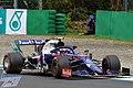 Pierre Gasly, Toro Rosso-Honda STR14, 2019 Italian Grand Prix, Monza, 6th September.jpg