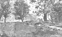 Piet Mondriaan - Trees and cows in a field - A47 - Piet Mondrian, catalogue raisonné.jpg