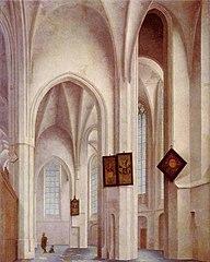 Das Innere der St. Jakobs-Kirche in Utrecht