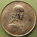 Pieter van abeele, guglielmo II d'orange (gugl. III sul verso), arg, 1654.JPG