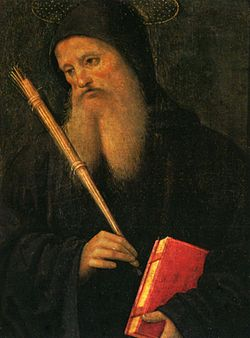 Pietro Perugino: Szent Benedek (1496–1500)