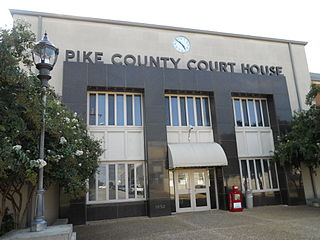 Pike County, Alabama County in the United States