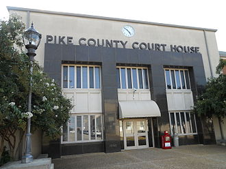 Pike County, Alabama - Image: Pike County Alabama Courthouse
