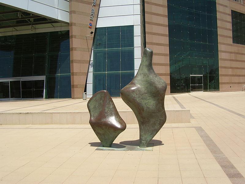 """הפסל """"אם וילד"""" בבאר שבע"""