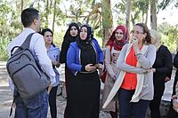 PikiWiki Israel 43365 A meeting between collegesOhalo college.JPG