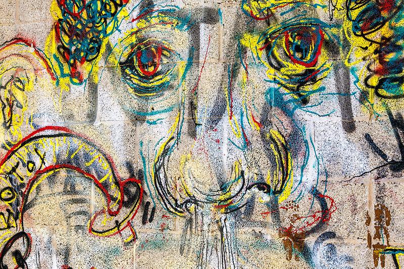 אמנות רחוב בתל אביב